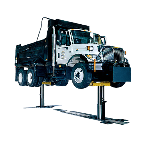 rotary lift in ground automotive lift car truck