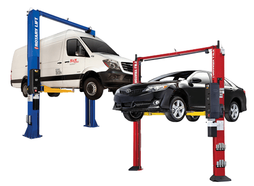 rotary lift 2 post car and truck auto lift