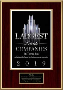 Largest Private Company Tampa 2019
