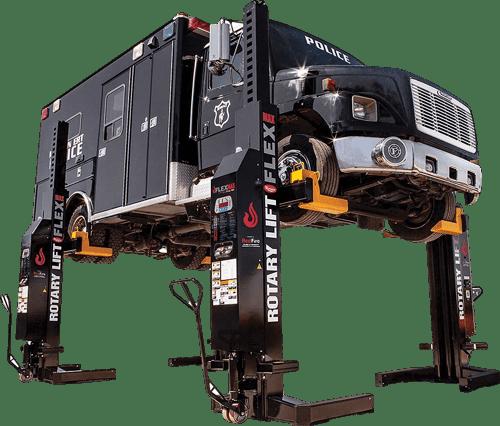 rotary lift mobile column lift
