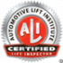 Automotive Lift Institute Badge